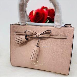 Kate spade mini satchel rosy cheeks crossbody nwt